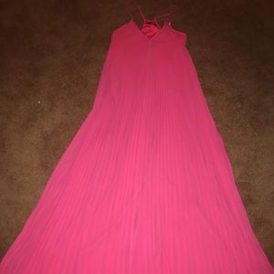 Victoria's Secret Dresses - Victoria's Secret Pleated Maxi